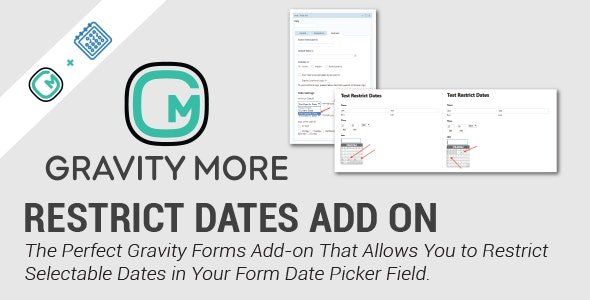 Restrict Dates In Gravity Forms - CodeCanyon Item for Sale