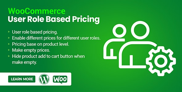WooCommerce User Role Based Pricing - CodeCanyon Item for Sale