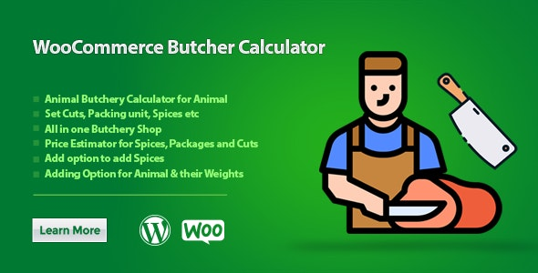 WooCommerce Butcher Calculator - CodeCanyon Item for Sale