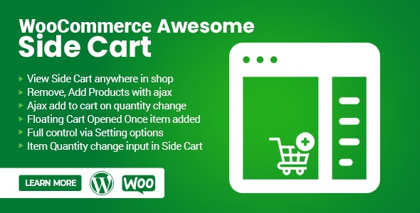WooCommerce Awesome Side Cart - CodeCanyon Item for Sale