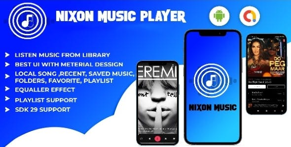 Android- Nixon music player