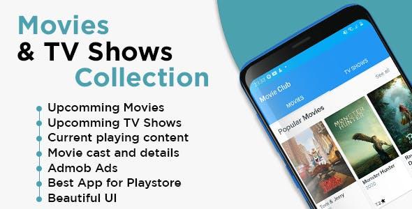 Movies Club App with Admob Ads