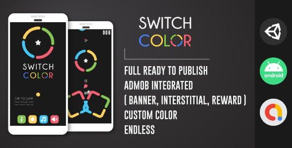 Switch Color - Unity | Admob | GDPR | Fresh Design
