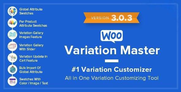 WooCommerce Variation Master - CodeCanyon Item for Sale