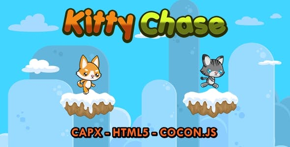 Kitty Chase - Construct 2 Game