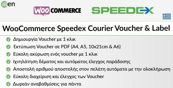 WooCommerce Speedex Courier Voucher & Label