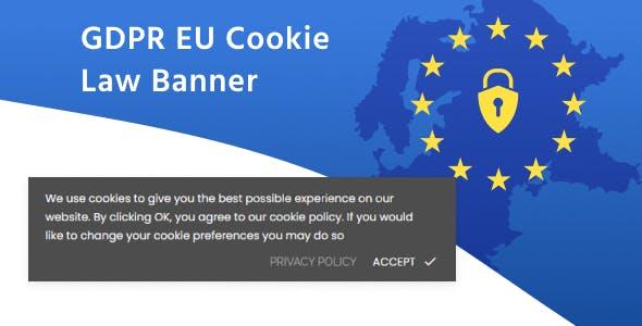 GDPR EU Cookie Law Compliance