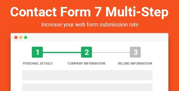 Contact Form Multi-step 7 Pro - CodeCanyon Item for Sale