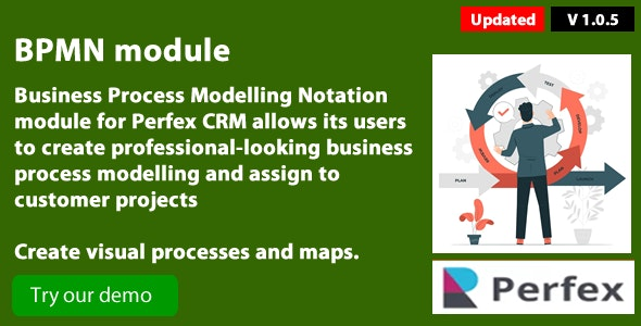 Business Process Modelling 1.0.6. module for Perfex CRM - CodeCanyon Item for Sale