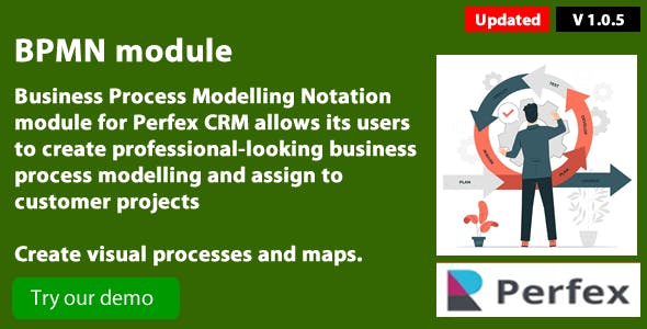 Business Process Modelling 1.0.6. module for Perfex CRM