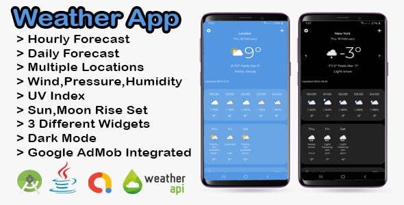 Android Weather App with AdMob Integrated