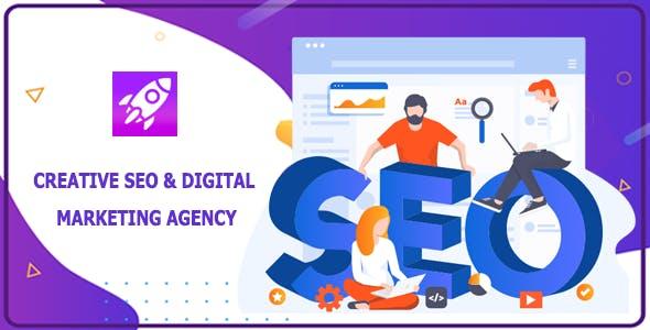Seosky - SEO Agency & Digital Company Website