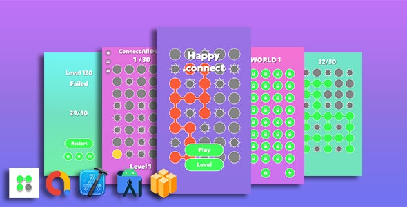 Happy .connect Game Template - CodeCanyon Item for Sale