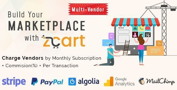 zCart Multi-Vendor eCommerce Marketplace - CodeCanyon Item for Sale