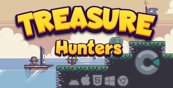 Treasure Hunters - HTML 5 - Construct 3 Game
