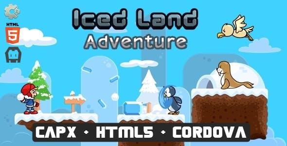 Icedland Adventure - Construct 2 Html5 Game