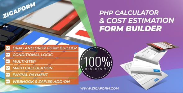 Zigaform - PHP Calculator & Cost Estimation Form Builder