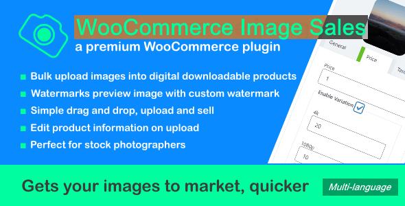 WooCommerce Image Sales