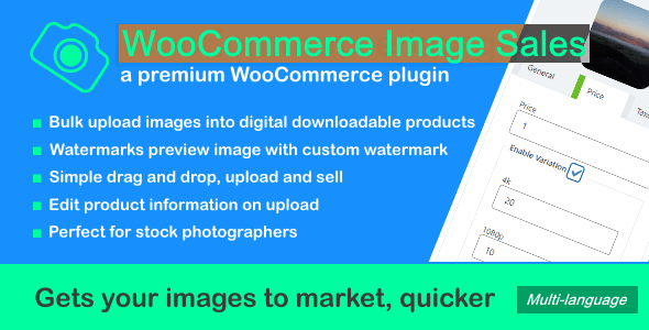 WooCommerce Image Sales - CodeCanyon Item for Sale
