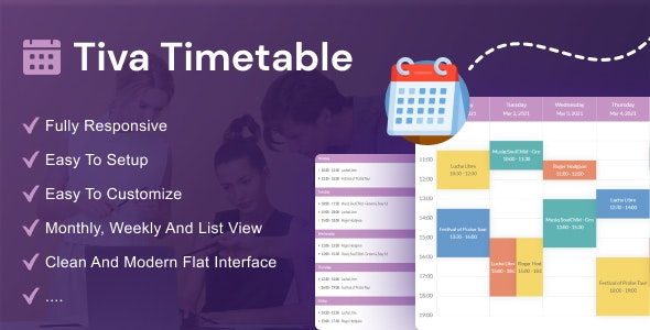 Tiva Timetable - CodeCanyon Item for Sale