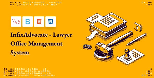 InfixAdvocate - Lawyer Office Management System