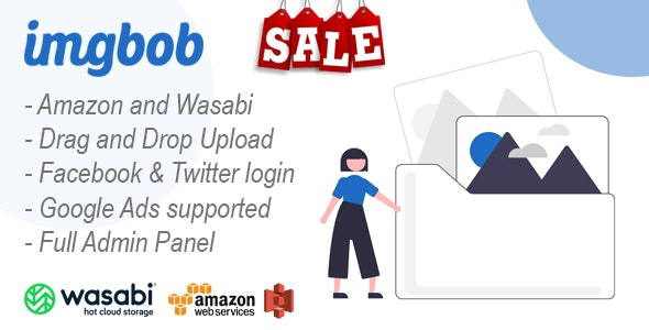 Imgbob - Upload And Share Images Platform - CodeCanyon Item for Sale