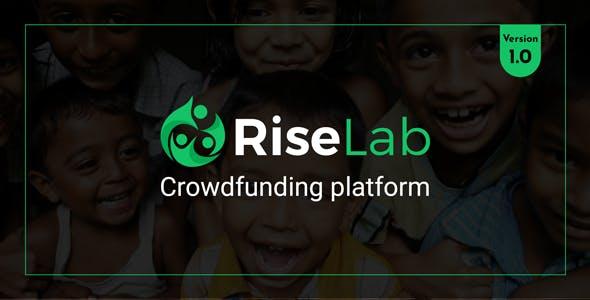 RiseLab - Crowdfunding Platform