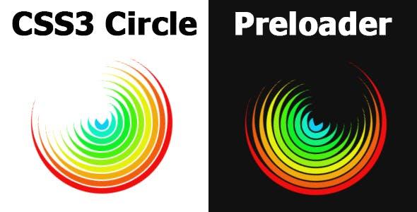 CSS3 Circle Preloader
