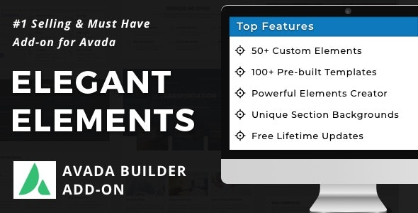 Elegant Elements for Fusion Builder and Avada - CodeCanyon Item for Sale