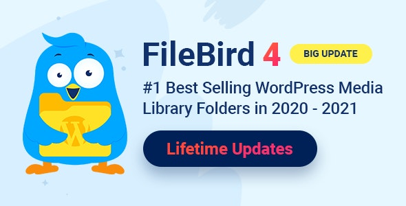 FileBird - WordPress Media Library Folders - CodeCanyon Item for Sale