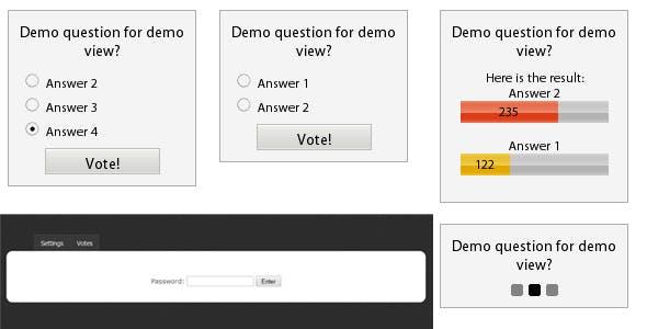 Poll ajax