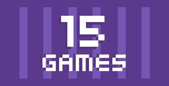 (15) Hyper-Casual Games | HTML5 GAME BUNDLE