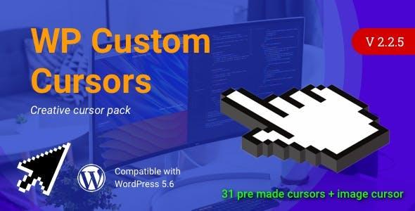 WP Custom Cursors | WordPress Cursor Plugin