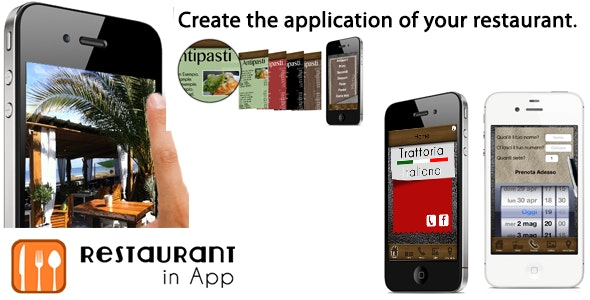 Restaurant In App - CodeCanyon Item for Sale