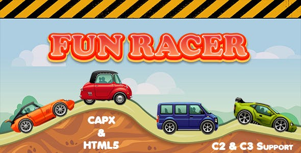 Fun Racer (CAPX and HTML5) Car Racing Game