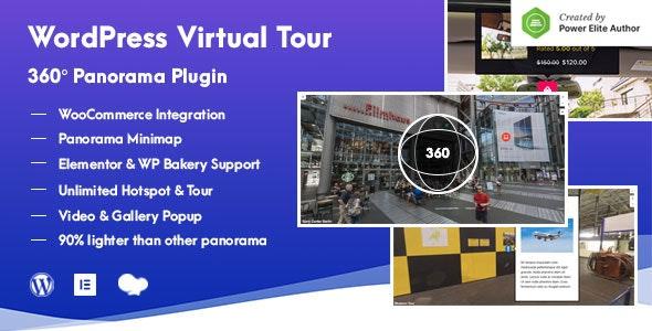 WordPress Virtual Tour 360 Panorama Plugin - CodeCanyon Item for Sale