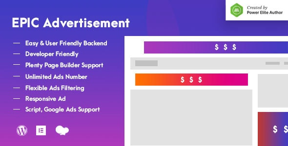 Epic Advertisement WordPress Plugin & Add Ons for Elementor & WPBakery Page Builder - CodeCanyon Item for Sale