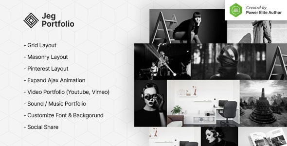 Jeg Portfolio - Responsive Portfolio & Gallery Plugin For WordPress - CodeCanyon Item for Sale