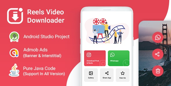 Downloader Instagram Reels, IGTV, Videos and Photos for Android - CodeCanyon Item for Sale