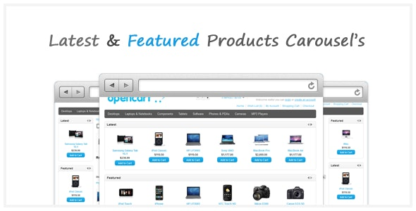 Products Carousels Opencart Modules - CodeCanyon Item for Sale
