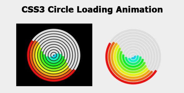 CSS3 Circle Loading Animation