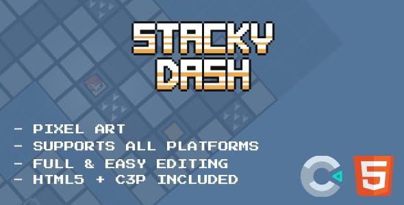 Stacky Dash - HTML5 Game