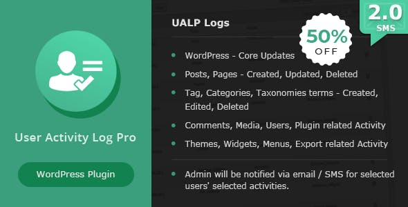 User Activity Log PRO for WordPress