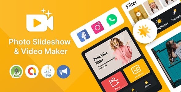 Photo Slideshow & Video Maker for Android App
