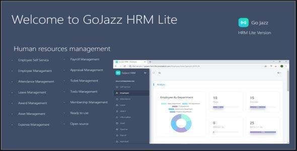 GoJazz – HRM Web App Based on ASP.NET Core 5.x.x MVC - CodeCanyon Item for Sale