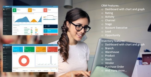 BALAKA – CRM and Inventory Web App Based on ASP.NET Core 5.x.x MVC - CodeCanyon Item for Sale