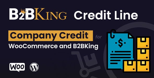 B2BKing Company Credit - WooCommerce Line of Credit System (Add-on)