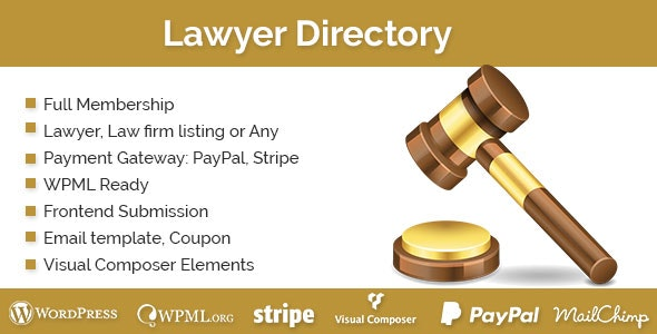 Lawyer Directory - CodeCanyon Item for Sale