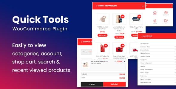 SW Quick Tools - Quick View Popup WooCommerce WordPress Plugin