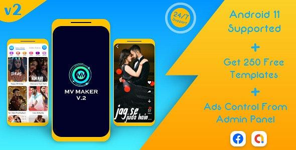 Lyrical Video Status Maker v2 - Photo to Video Maker - Whatsapp Status Saver - MV maker & MV Master - CodeCanyon Item for Sale
